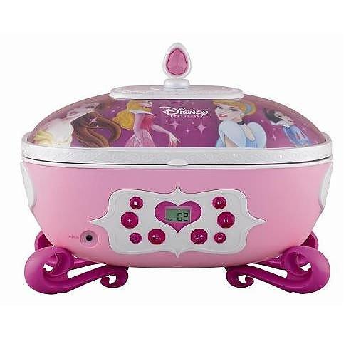 Cosmo Communications Corp. Disney Princess Jewelry Box/CD Boombox