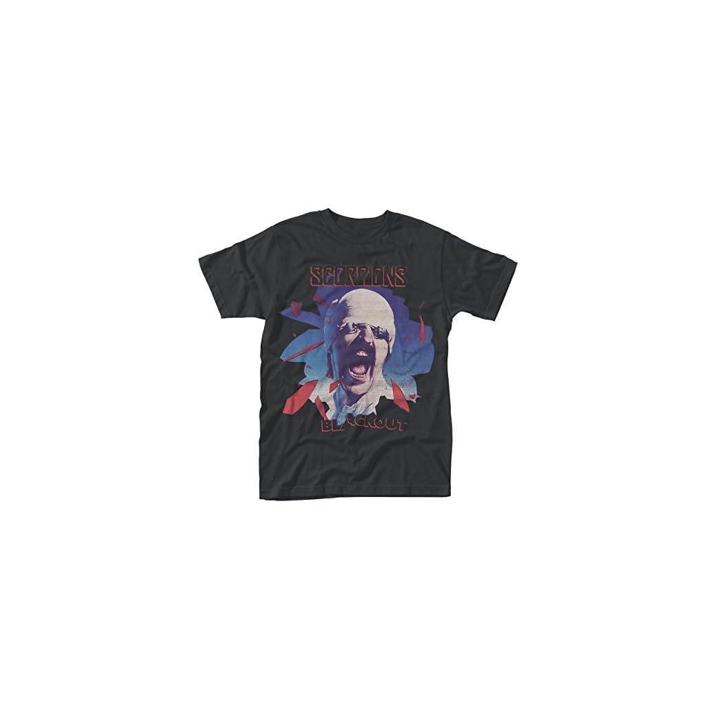 Scorpions Black out, Camiseta