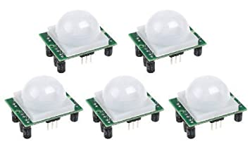 5PCS/Lot ajusta el módulo infrarrojo del detector del sensor de movimiento del IR Pyroelectric