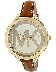 Michael Kors Womens Slim Runway Brown Watch MK2326