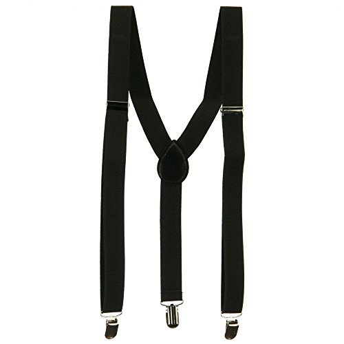 Fashion Suspender - Black OSFM