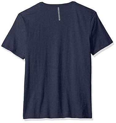 Calvin Klein Men's Short Sleeve Blue Jeans V-Neck T-Shirt