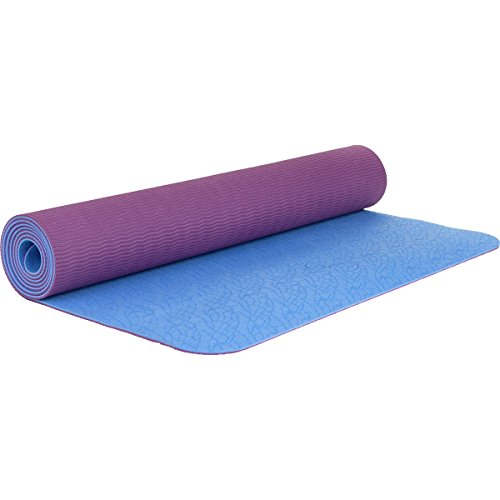 Maji Sports 1760755 2 Tone TPE Yoga Mat, Multicolor by Maji Sports
