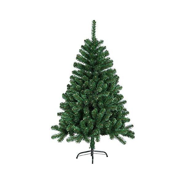 Mctech, albero di Natale artificiale, colore: verde, PVC, 180 cm 1 spesavip