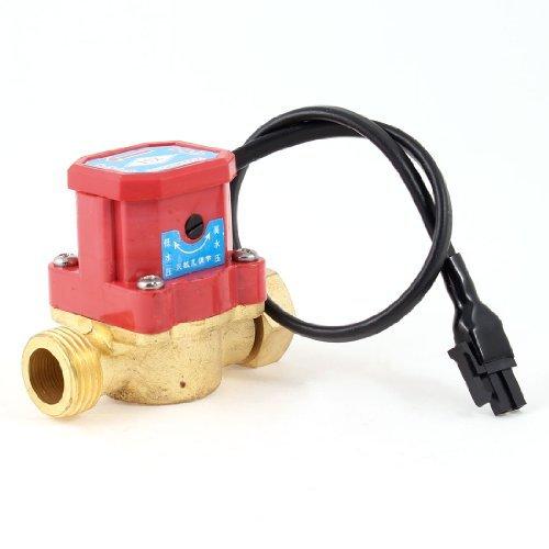 Amazon.com: eDealMax 21mm Rosca Macho Conector AC 220V 90W Interruptor de flujo de presión de la Bomba de agua: Electronics