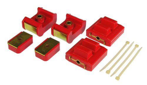 Prothane 7-1904 Red Motor and Transmission Mount Kit by Prothane (Image #1)