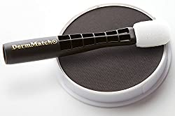 DermMatch: Thickest Hair On Earth. Natural Hair Loss Concealer For Men & Women (Black)