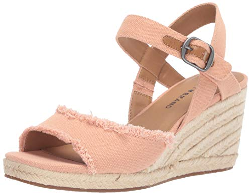Lucky Women's MINDRA Espadrille Wedge Sandal, Maple Sugar, 5.5 M ()