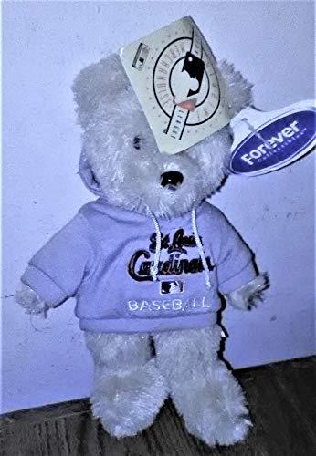 (St. Louis Cardinals 8'' Fuzzy Hoodie Bear)