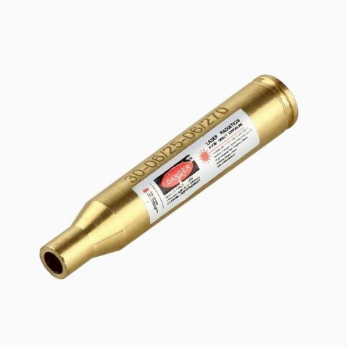 (hayootech 30-06/25-06/270 Bore Sight Laser Red Dot Cartridge Laser bore Sighter)