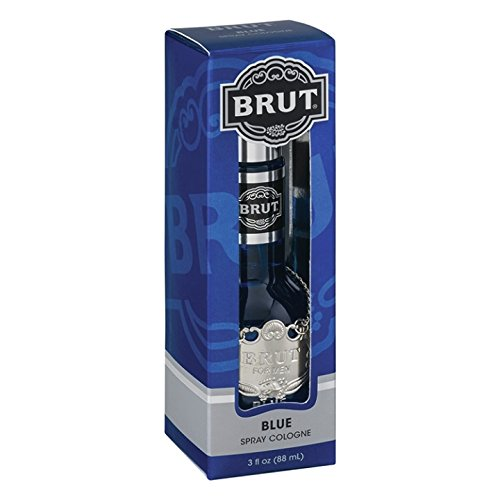 Brut Faberge Cologne Spray, Brut Blue, 3 Ounce BRUBLUM0308802