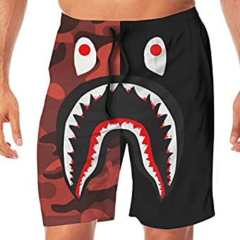 Amazon.com: Mens Swim Trunks Quick Dry Beach Wear Shorts