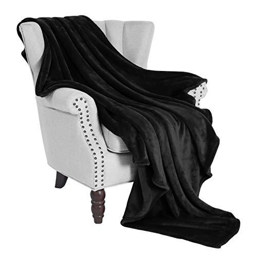 Exclusivo Mezcla Luxury Flannel Velvet Plush Throw Blanket - 50