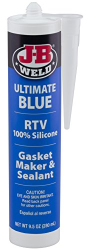 J-B Weld 32926 Ultimate Blue RTV Silicone Gasket Maker and Sealant - 9.5 oz.