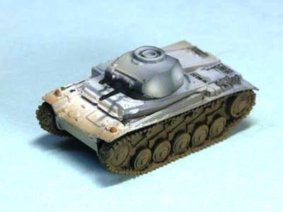 World Tank Museum - 1/144 World Tank Museum Series 03-42 II Panzer F-type Light Tank winter camouflage (Painted) separately