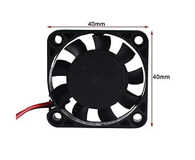 Ventilador de la impresora 3D Werse 4pcs Fan 12V 0.08A DC ...