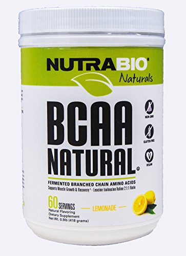 Nutrabio BCAA Natural Lemonade 60 Servings