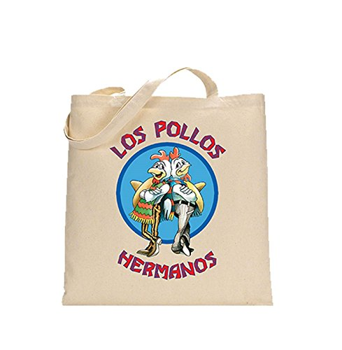 Breaking Bad Los Pollos Hermanos Ufficiale nuovo bianca Tote Bag