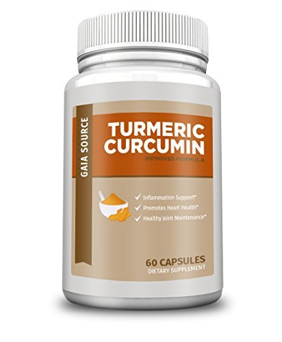 GS Supplements – Turmeric Curcumin for Anti-Inflammatory, Pain Relief, Antioxidant Supplement, 600 mg, 60 Capsules Review