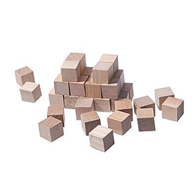 Wooden Cubes Blocks