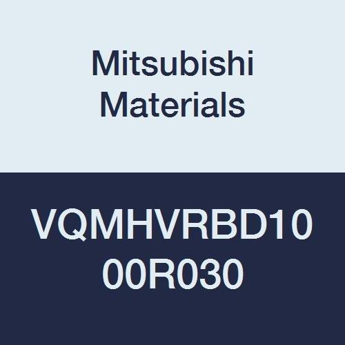 Mitsubishi Materials VQMHVRBD1000R030 VQMHVRB Carbide Smart Miracle Corner Radius End Mill 22 mm LOC 0.3 mm Corner Radius 10 mm Cut Dia 4 Medium Flute
