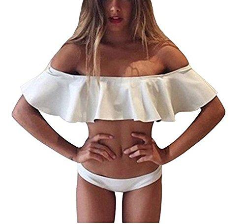 Cheap White Bikini Set in Australia - 7