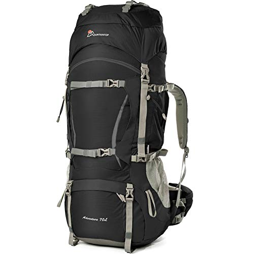 Mountaintop 70L+10L Hiking Backpack