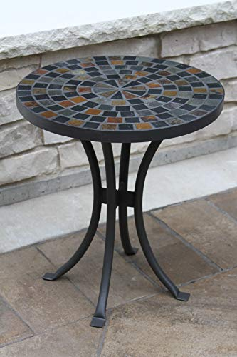 Outdoor Interiors LLC 31625 Mosaic Side Table 18Inch