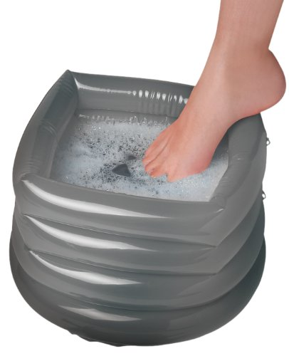 Amazon.com: SmartWorks Soothing Foot Spa hinchable con bomba ...