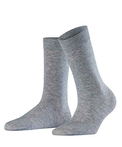 Falke Women's Sensual Cashmere Sock, Anthracite Melange, 35-38