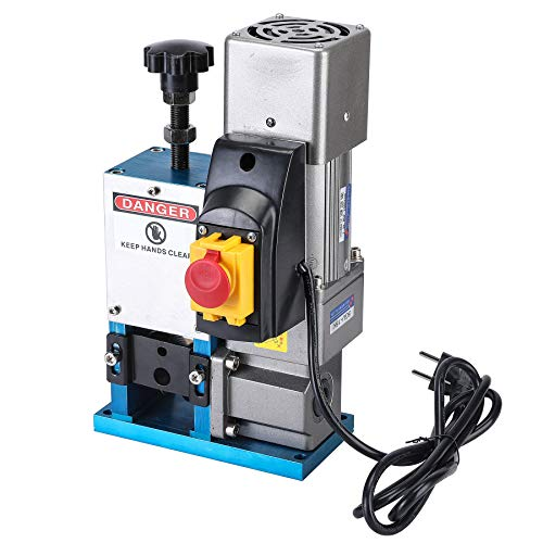 CO-Z Upgraded Automatic Electric Wire Stripping Machine Portable Scrap Cable Stripper for Scrap Copper Recycling