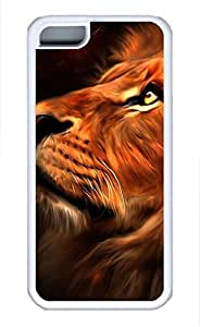 iPhone 5c case, Cute Golden King iPhone 5c Cover, iPhone 5c Cases, Soft Whtie iPhone 5c Covers