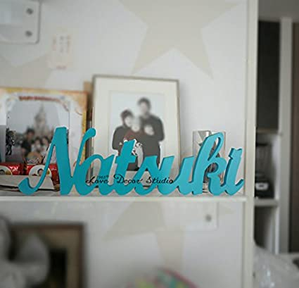 Kids Personalized Wooden Name Signs - Childrenu0027s Name Wall Decor Wooden Letters Wooden Names & Amazon.com: Kids Personalized Wooden Name Signs - Childrenu0027s Name ...