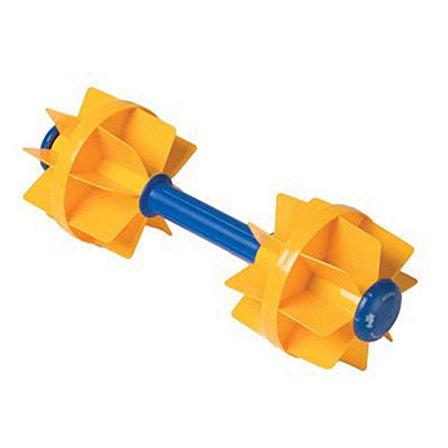 Kiefer Water Workout Dumbbells with 6-Inch Diameter Floats, Medium Resistance (1-Pair), Yellow (Water Aerobic Weights compare prices)