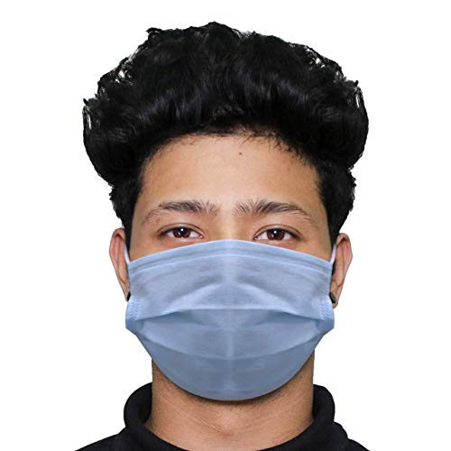 ORILEY ORGANIC OO0001 3 Ply Non Surgical Disposable Face Mask 25 GSM Unisex Nose Mouth Protection Cover with Non-woven Fabric for Women & Men (25 Pcs) Price & Reviews