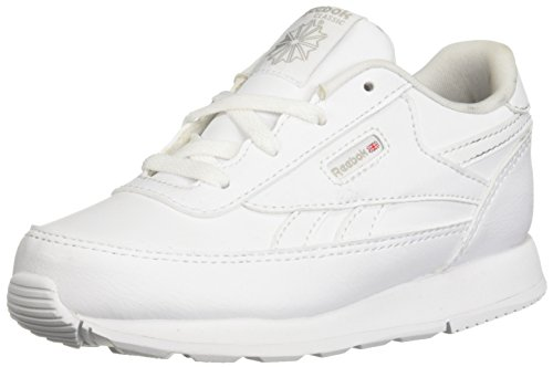 Infant White Footwear - Reebok Baby CL Renaissance Sneaker, White, 9 M US Infant