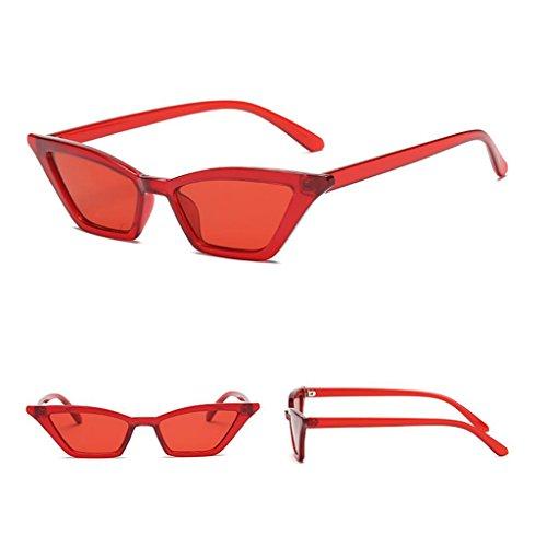 Compliments Soleil Protection Femmes Pour Rouge Fille Lunettes Uv De Par Fenteer wOPY7qEO