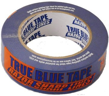 36 Roll Case of 1.5 Inch Blue Painters Tape Only $3.02 Per Roll! Bulk - Painter Site