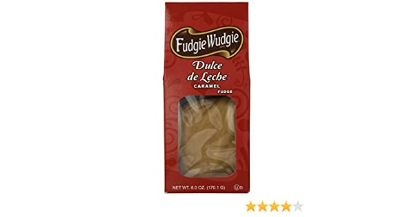 Amazon.com : Fudgie Wudgie Fudge, Dulce de Leche, Caramel, 6 Ounce : Grocery & Gourmet Food
