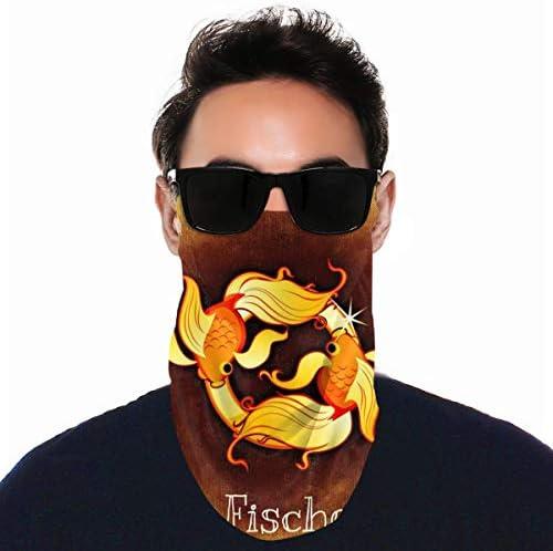 フェイスカバー Uvカット ネックガード 冷感 夏用 日焼け防止 飛沫防止 耳かけタイプ レディース メンズ Goldden Fische