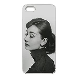 iPhone 4 4s Cell Phone Case White hd40 audrey hapburn classic sexy woman LSO7744175
