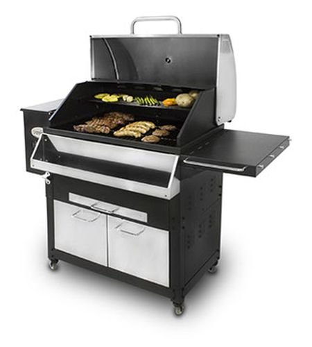 Louisiana Grills 60800 Stainless Steel Wood Pellet Grill, 800 sq. in. by Louisiana Grills