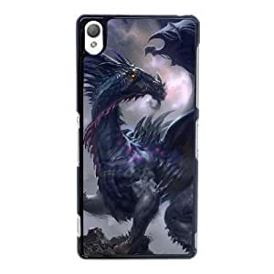Sony Xperia Z3 Cell Phone Case Black Ancient Dragon YT3RN2594007