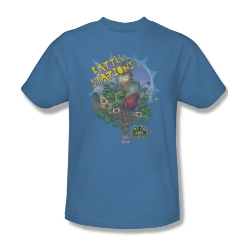 Codename Kids Next Door Cartoon TV Series Battle Stations Adult T-Shirt Tee