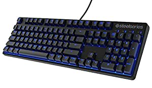 SteelSeries Apex M500 Mechanical Gaming Keyboard, Cherry MX Red, Blue LED Backlit