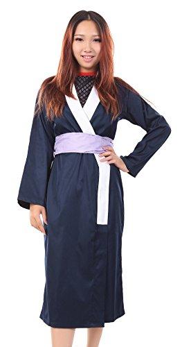 Kunoichi Costume (SDWKIT Naruto Shippuden Konohagakure Kunoichi Shizune Kimono Outfit Set)