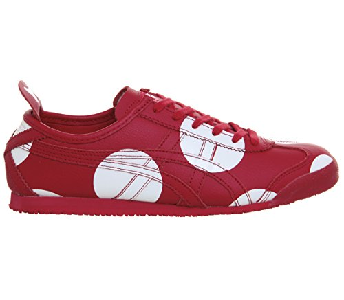Zapatilla Mexico 0505 Asics Red 66 D7X4L Beige Red Minnie 4HTWw1d