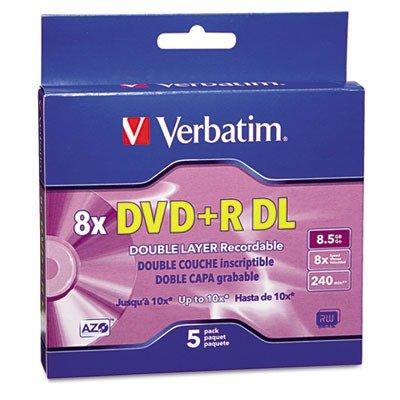 VER95311 - Verbatim Dual-Layer DVDR Discs