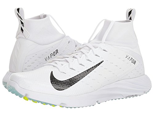 [NIKE(ナイキ)] メンズランニングシューズ?スニーカー?靴 Vapor Speed Turf 2 White/Black 15 (33.cm) D - Medium