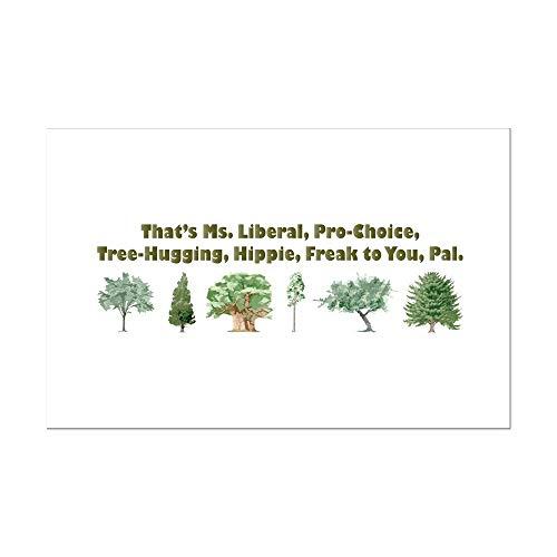 CafePress That's Ms. Liberal Mini Poster Print